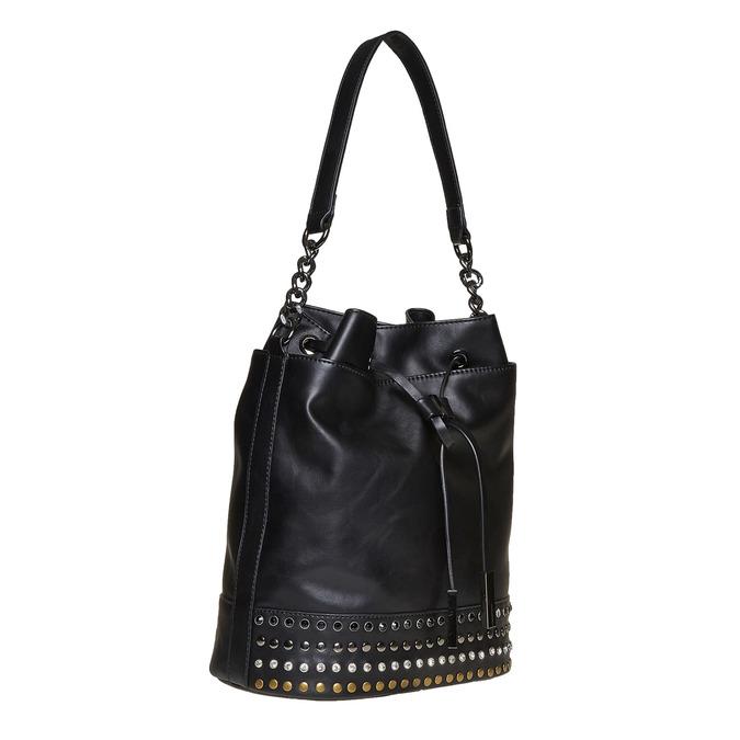 Sac à main dans le style Bucket Bag bata, Noir, 961-6126 - 13