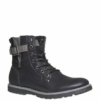 Chaussure montante homme bata, Noir, 891-6237 - 13