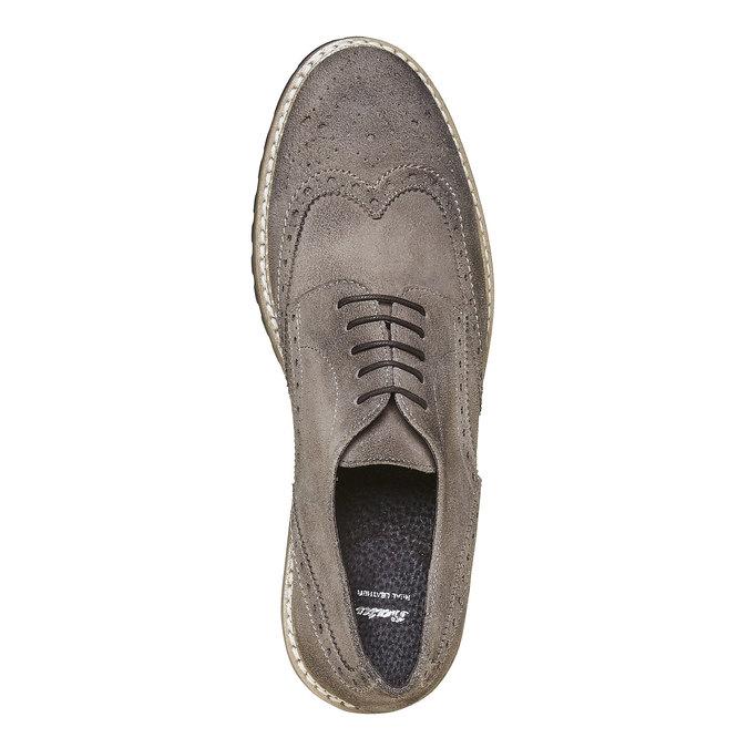 Chaussure Derby homme bata, Gris, 823-2177 - 19