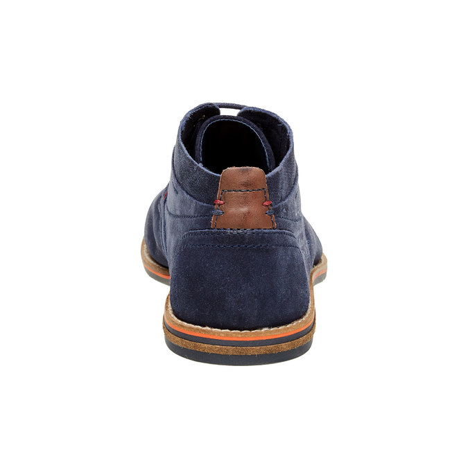 Chaussure lacée montante en cuir bugatti, Violet, 823-9542 - 17