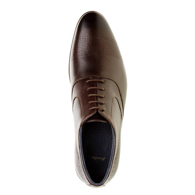 Chaussure lacée Oxford bata, Brun, 824-4812 - 19