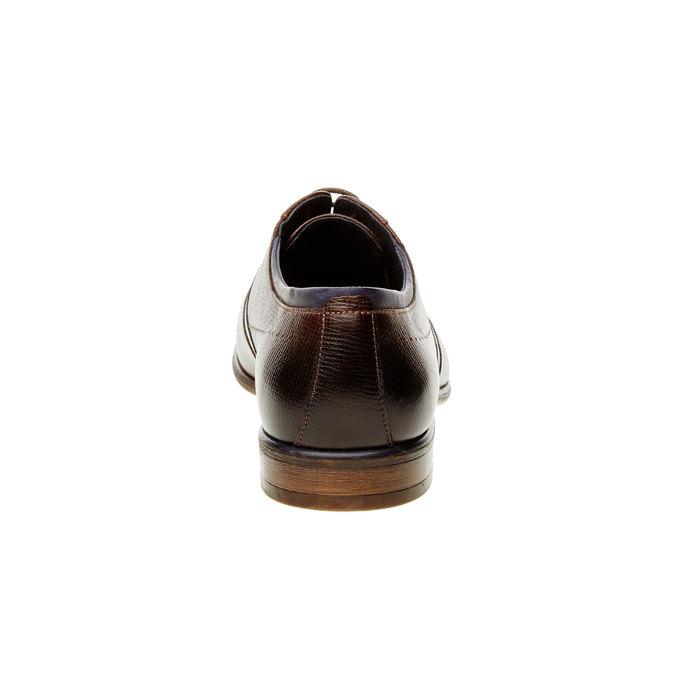 Chaussure lacée Oxford bata, Brun, 824-4812 - 17