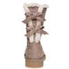 Chaussure d'hiver pour femme à nœuds bata, Gris, 599-2994 - 17