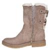 Chaussure d'hiver pour femme à nœuds bata, Gris, 599-2994 - 19