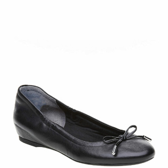 Ballerine noire en cuir rockport, Noir, 524-6121 - 13