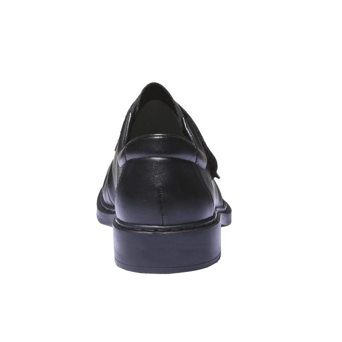 Chaussures en cuir rieker, Noir, 814-6132 - 17