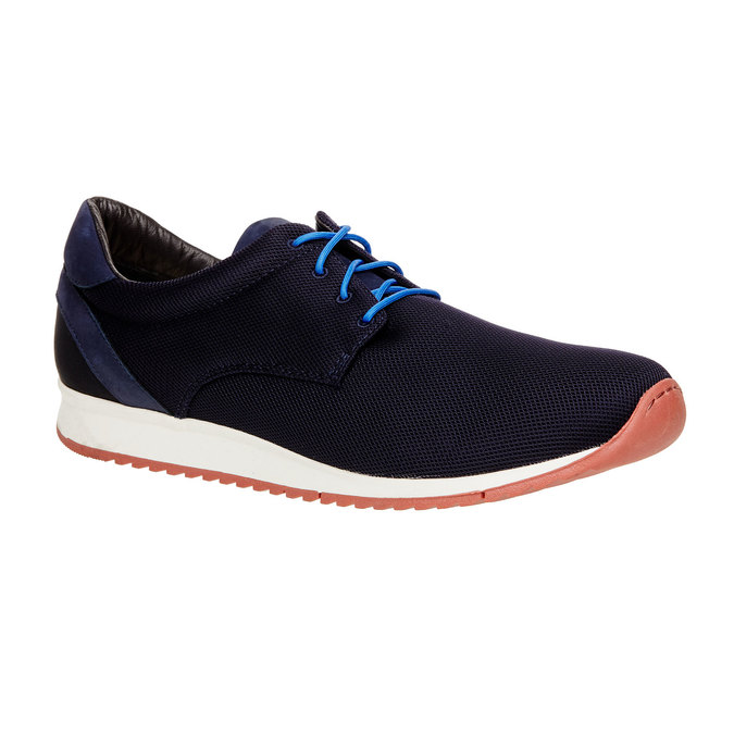 Chaussures Homme vagabond, Noir, Bleu, 849-9019 - 13