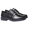 Chaussures en cuir rieker, Noir, 814-6132 - 26