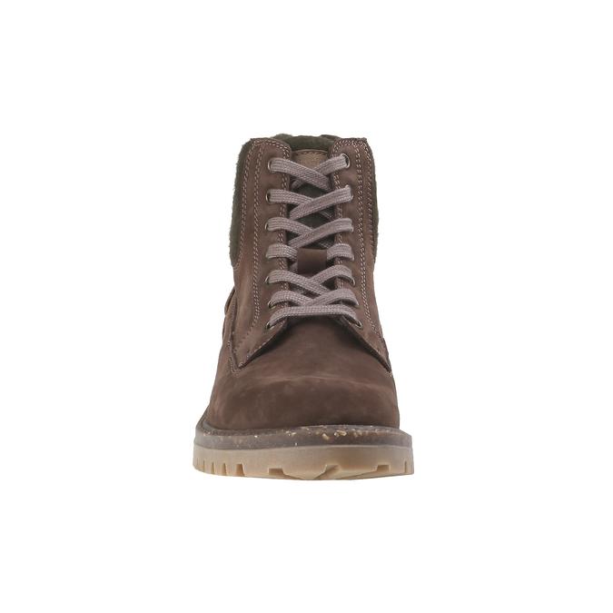 Chaussures de marche nubuck weinbrenner, Brun, 896-4628 - 16