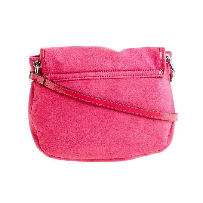 Sac Crossbody à rabat bata, Rouge, 969-5377 - 26