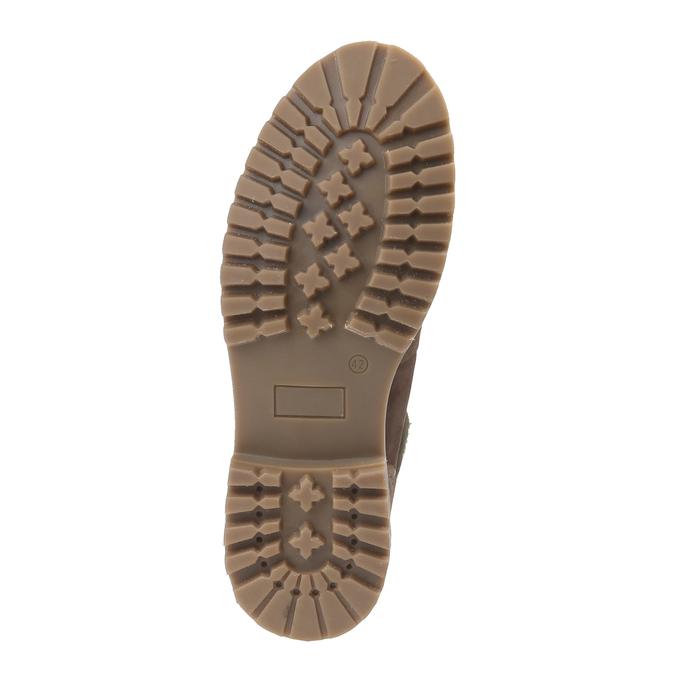 Chaussures de marche nubuck weinbrenner, Brun, 896-4628 - 18