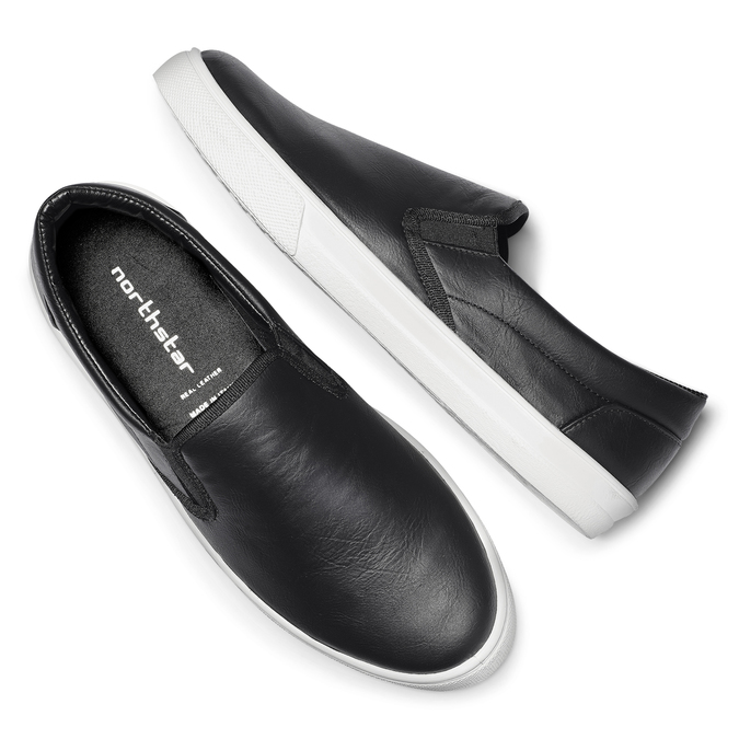 Slip on pour homme north-star, Noir, 831-6111 - 19