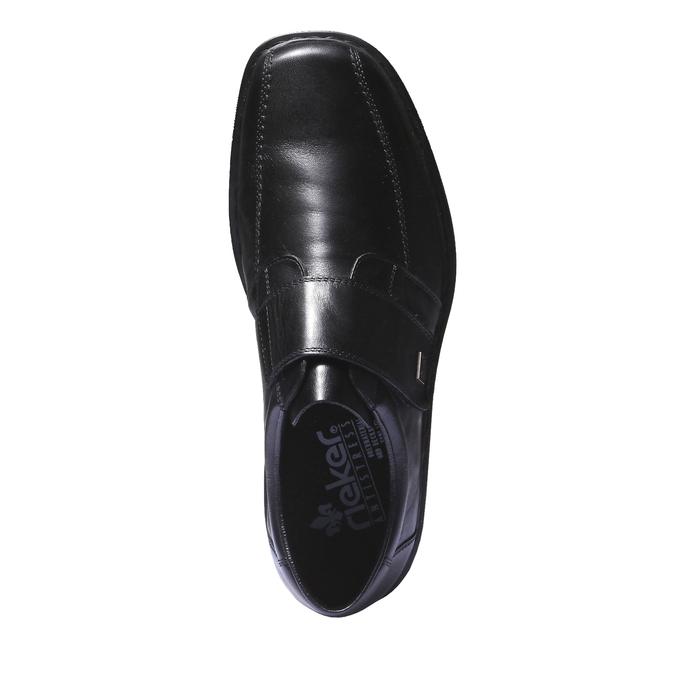 Chaussures en cuir rieker, Noir, 814-6132 - 19
