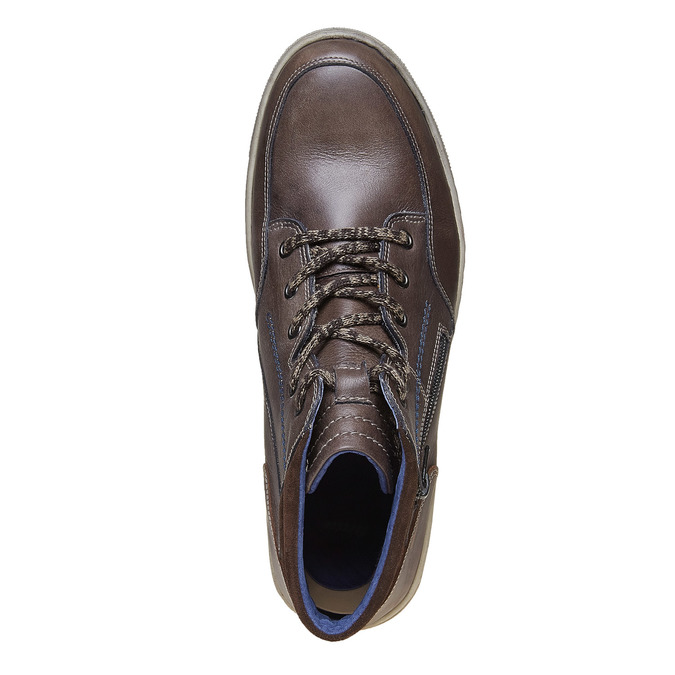 Chaussures Homme bata, Gris, 844-2686 - 19