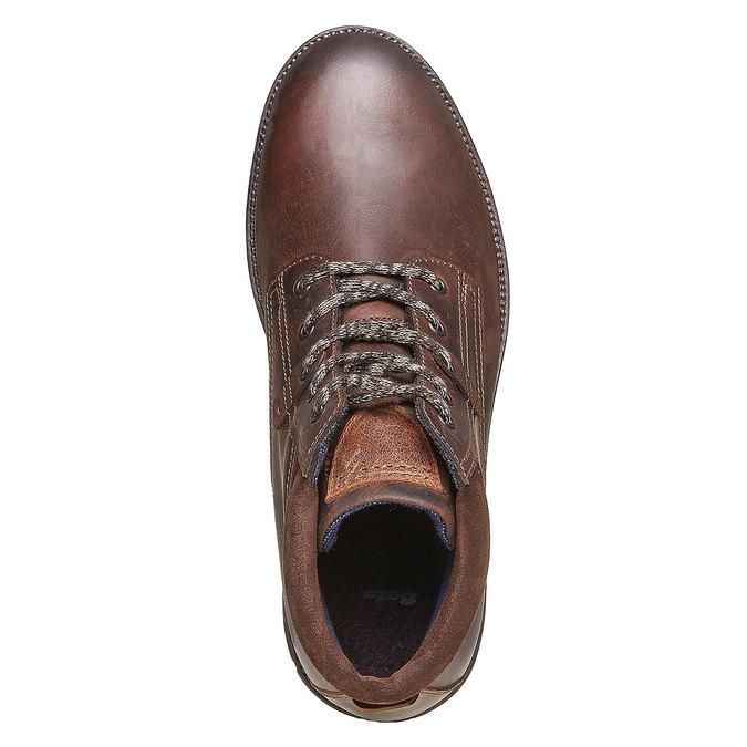 Chaussure en cuir pour homme bata, Brun, 894-4281 - 19