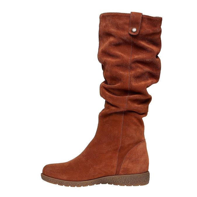 Chaussures Femme bata, Brun, 593-3319 - 19