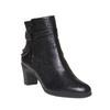 Chaussures Femme flexible, Noir, 694-6357 - 13