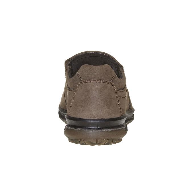 Chaussure en cuir homme bata, Gris, 836-2127 - 17