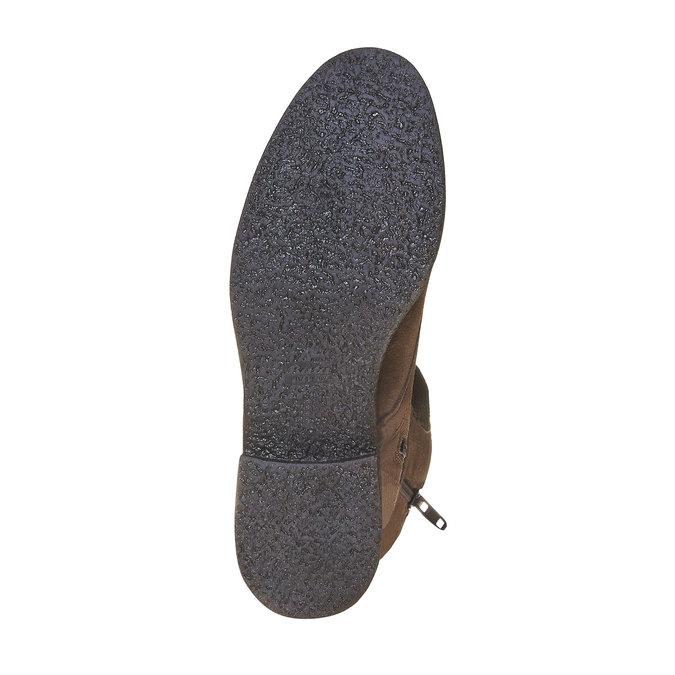 Chaussure en cuir pour femme bata, Brun, 593-4106 - 26