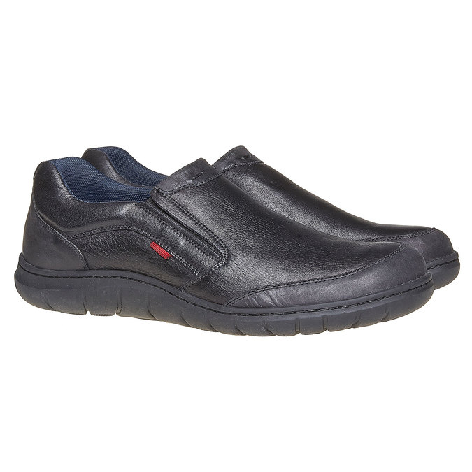 Chaussures Homme, Noir, 834-6126 - 26