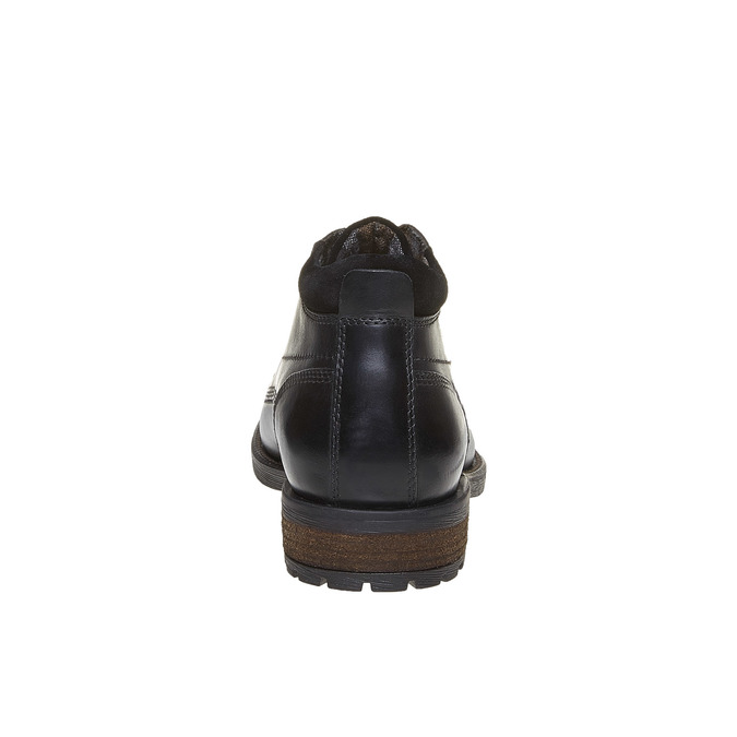 Bottines bata, Noir, 894-6661 - 17