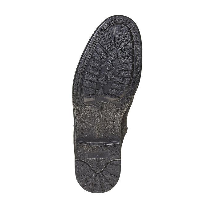 Chaussure en cuir pour homme bata, Noir, 894-6284 - 26