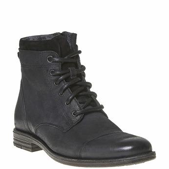 Chaussure en cuir pour homme bata, Noir, 894-6284 - 13