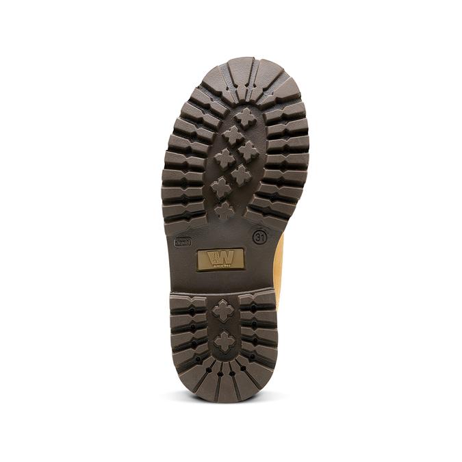 Chaussure pour enfant à semelle marquée weinbrenner-junior, Jaune, 396-8182 - 17