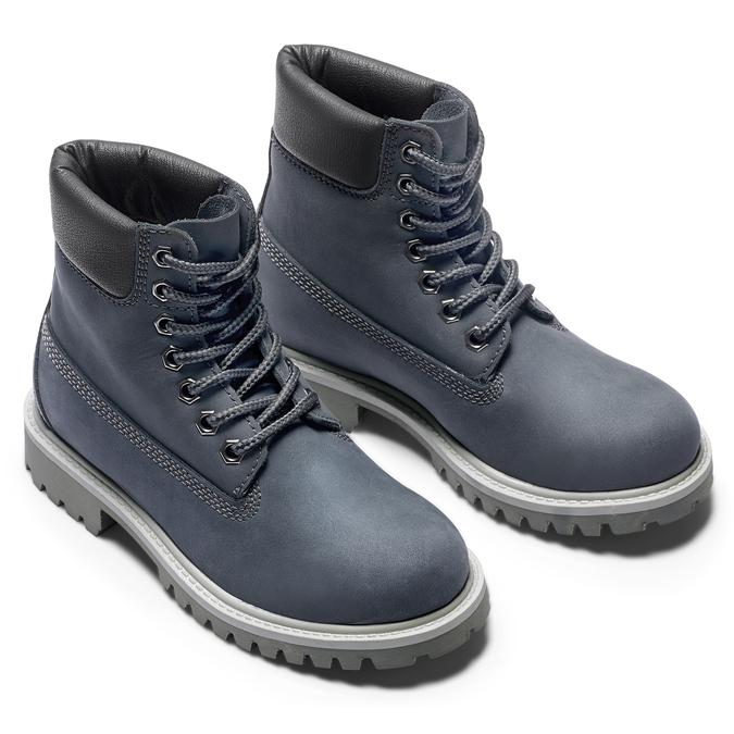 Chaussure montante d'hiver pour enfant weinbrenner-junior, Violet, 396-9263 - 19