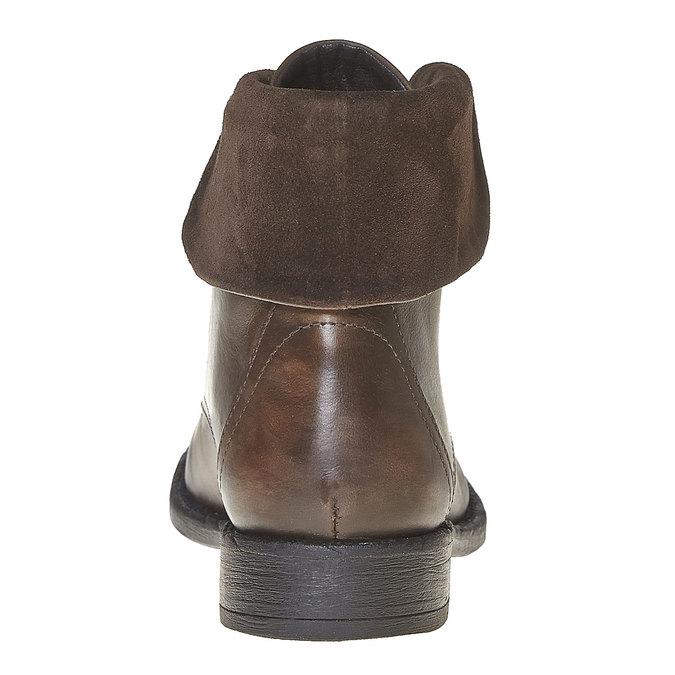 Bottine en cuir pour femme sundrops, Brun, 594-4450 - 17