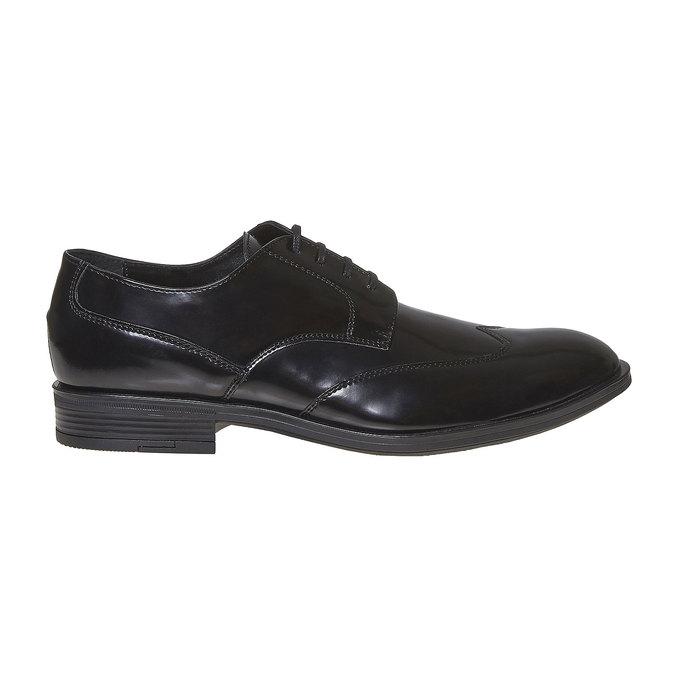 Chaussure lacée Derby homme bata, Noir, 821-6430 - 15