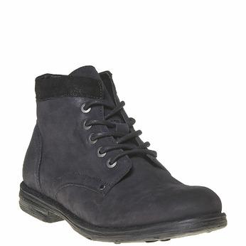 Chaussure montante en cuir pour homme bata, Noir, 896-6704 - 13