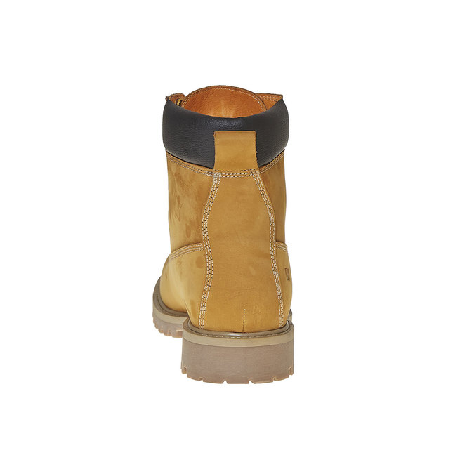 Chaussure d'hiver en cuir pour homme weinbrenner, Jaune, 896-8705 - 17