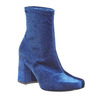 Bottine en velours bata, Bleu, 799-9643 - 13