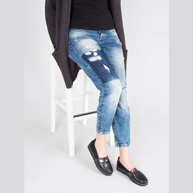 Chaussures Femme flexible, Noir, 514-6252 - 18