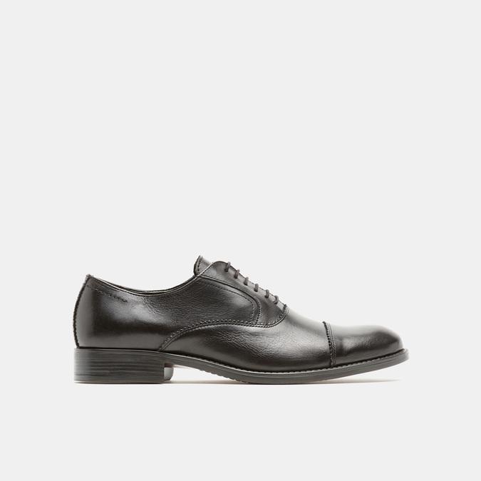 Chaussure lacée en cuir pour homme bata, Noir, 824-6870 - 13