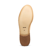 Chaussure lacée fantaisie en cuir pour femme bata, Jaune, 524-8482 - 19