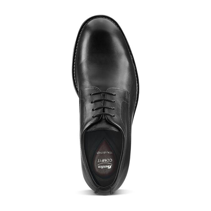 Chaussures en cuir pour hommes bata-comfit, Noir, 824-6938 - 15