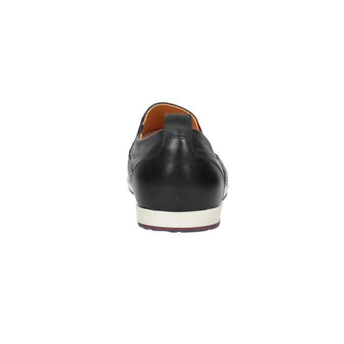 Chaussure Slip On en cuir pour homme bata, Violet, 814-9148 - 17