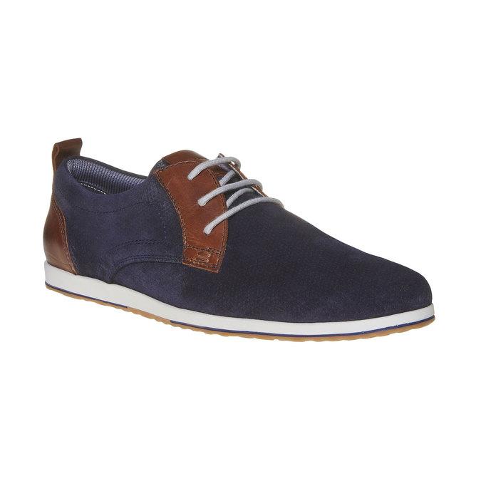 Chaussure en cuir homme bata, Violet, 823-9234 - 13