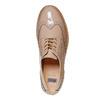 Chaussure vernie avec les motifs Brogue bata, Jaune, 521-8437 - 19