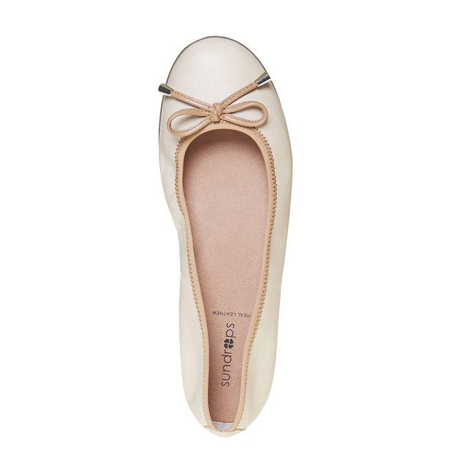 Chaussures Femme bata, Jaune, 524-8485 - 19