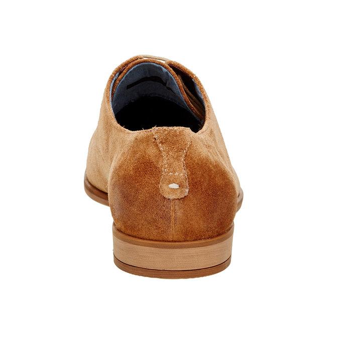 Chaussure lacée Derby en cuir vagabond, Brun, 823-3104 - 17