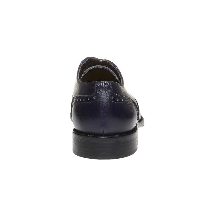 Chaussures bleues en cuir bata-the-shoemaker, Bleu, 824-9192 - 17