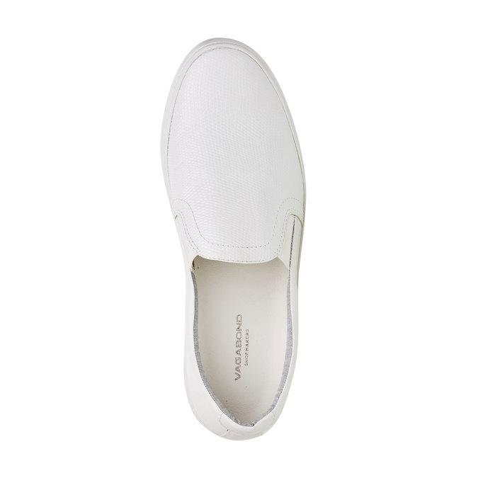 Plim Soll blanche en cuir vagabond, Blanc, 514-1005 - 19