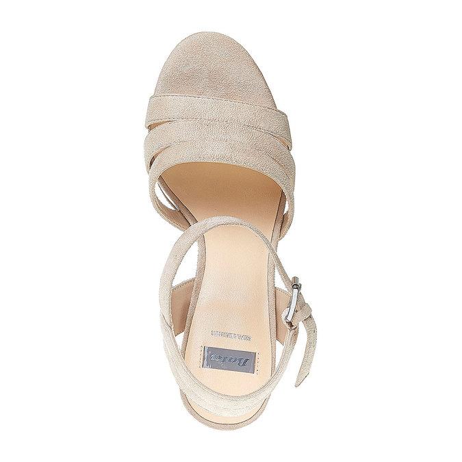 Sandale à lanières femme bata, Brun, 769-4484 - 19