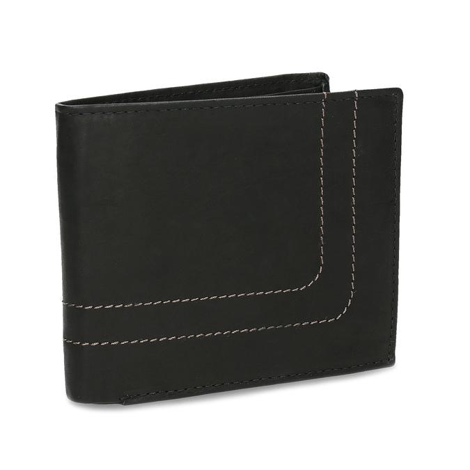 Porte-monnaie en cuir pour homme bata, Noir, 944-6147 - 13