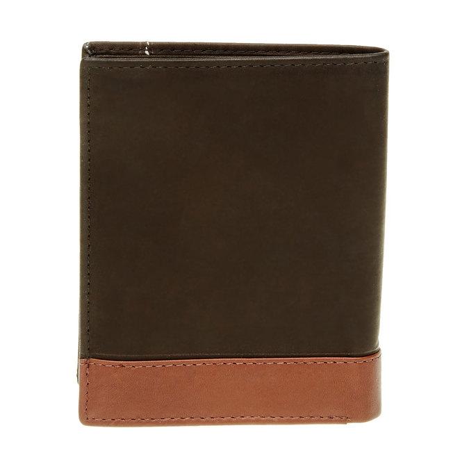 Porte-monnaie en cuir pour homme bata, Noir, 944-6150 - 26