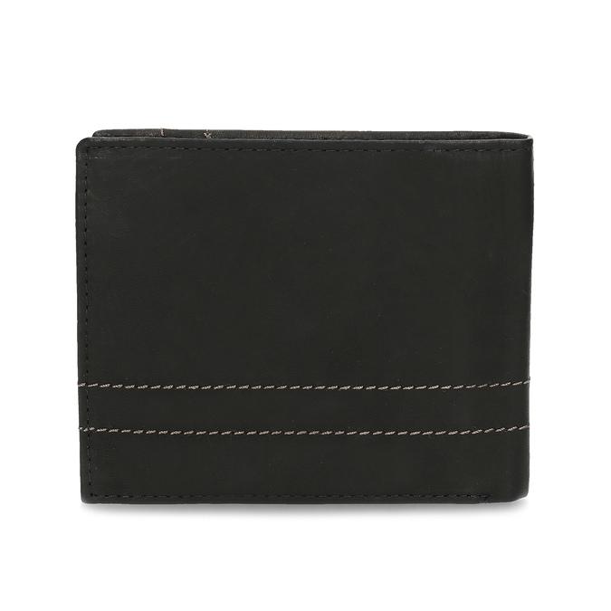 Porte-monnaie en cuir pour homme bata, Noir, 944-6147 - 16