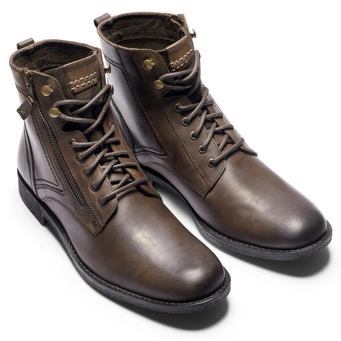 BATA Chaussures Homme bata, Brun, 894-4449 - 19